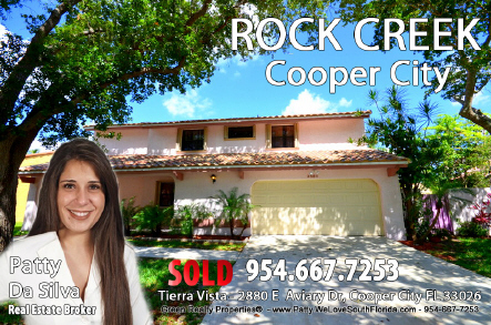 Cooper City | Rock Creek | Tierra Vista Homes For Sale